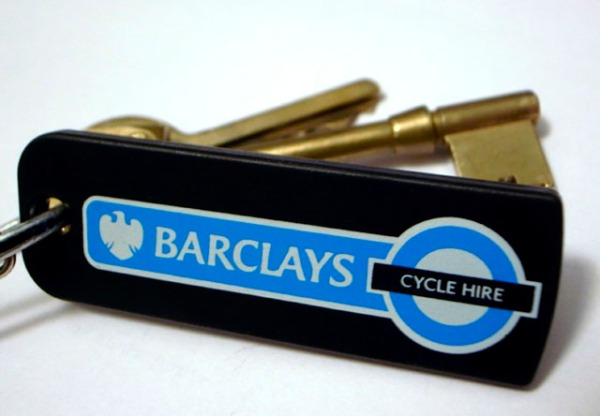 Barclays Cycle Hire membership key