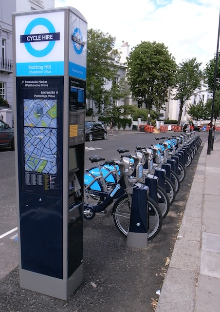 Barclays Cycle Hire station